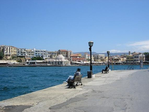 'Chania - harbour' - Chania