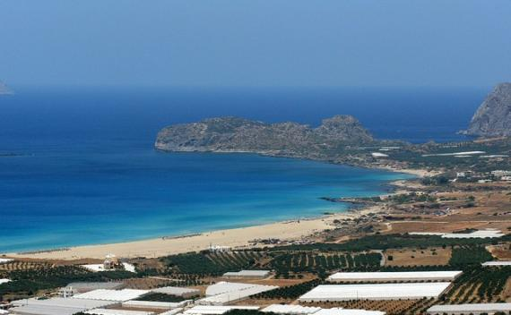 'Falassarna beach, Crete, Greece' - Chania